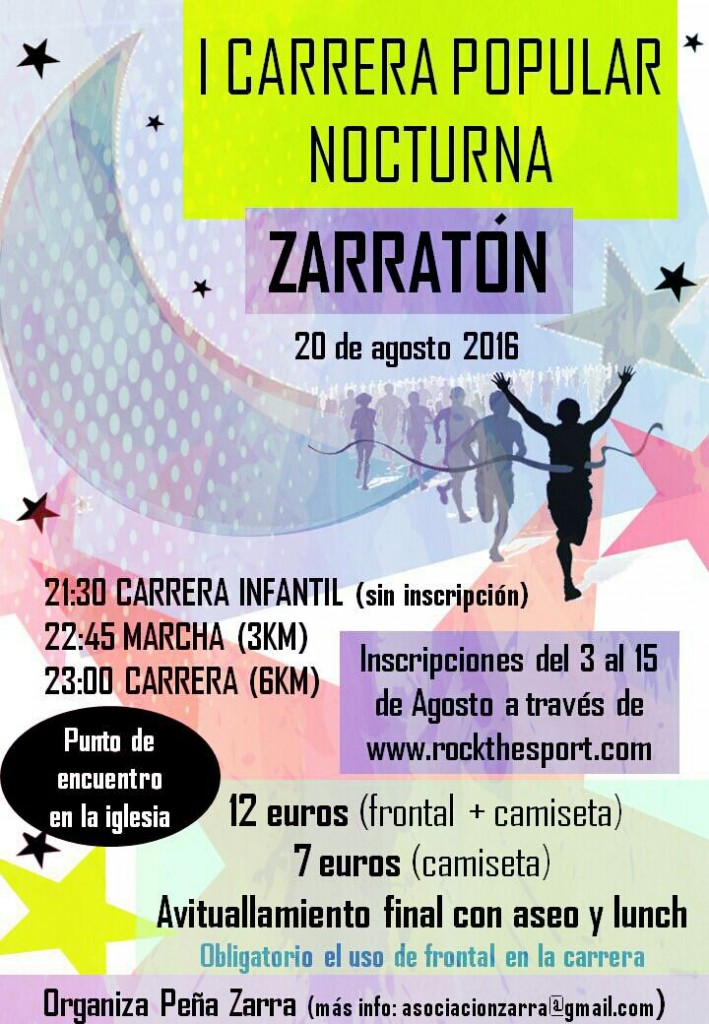 I Carrera Popular Nocturna Zarratón
